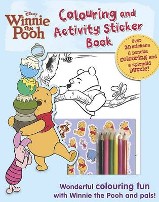 Winnie the Pooh Colouring and Activity by
