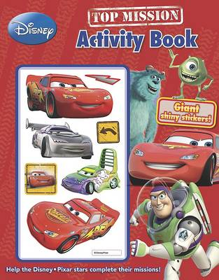 Disney Pixar Top Mission Activity Book with Stickers by