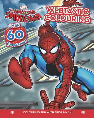 Marvel Spider-Man Colouring Fun Book by