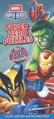 Marvel Super Heroes Puzzle Book by