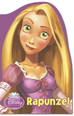 Disney Rapunzel Shaped Foam Book by