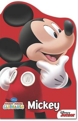 Disney Mickey Mouse Shaped Foam Book by