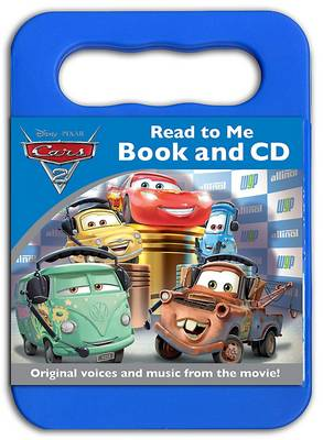 Disney Cars 2 Read to Me Book & CD by