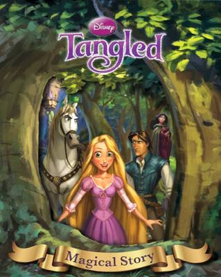 Disney Tangled Magical Story with Amazing Moving Picture Cover by
