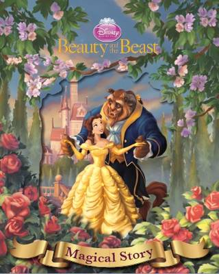 Disney Beauty and the Beast Magical Story with Amazing Moving Picture Cover by