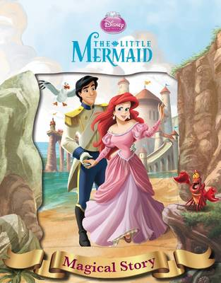Disney Little Mermaid Magical Story with Amazing Moving Picture Cover by