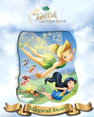 Disney Tinkerbell 3 Magical Story with Amazing Moving Picture Cover by