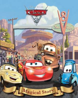 Disney Cars 2 Magical Story with Amazing Moving Picture Cover by