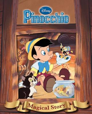 Disney Pinnochio Magical Story with Amazing Moving Picture Cover by