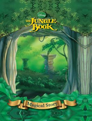 Disney Jungle Book Magical Story with Amazing Moving Picture Cover by