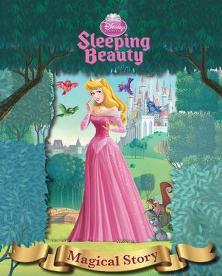 Disney Sleeping Beauty Magical Story with Amazing Moving Picture Cover by