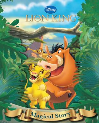 Disney Lion King Magical Story with Amazing Moving Picture Cover by