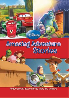 Disney Mega Treasury - Amazing Adventure Stories by