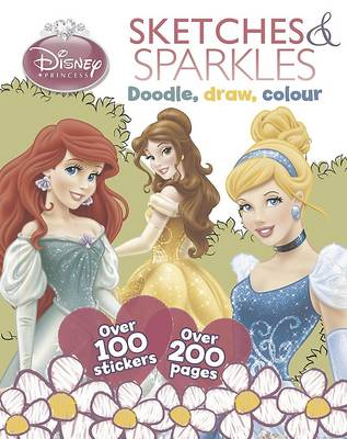 Disney Princess Scribbles and Sparkles by