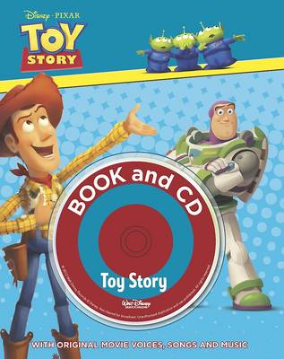 Disney Padded Storybook and Singalong CD by