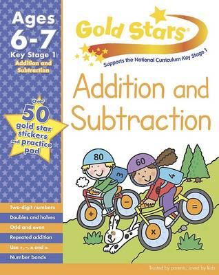 Gold Stars KS1 Addition and Subtraction Workbook Age 6-8 by