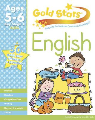 Gold Stars KS1 English Workbook Age 5-7 by