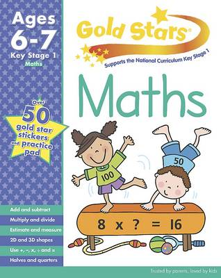 Gold Stars KS1 Maths Workbook Age 6-8 by