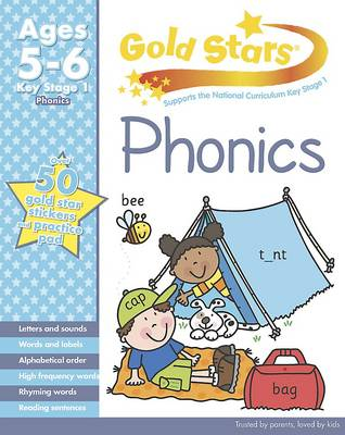 Gold Stars KS1 Phonics Workbook Age 5-7 by