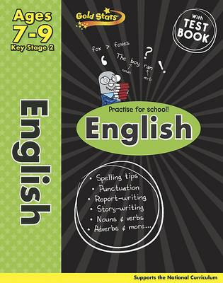 Gold Stars KS2 English Workbook Age 7-9 by