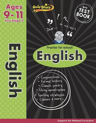 Gold Stars KS2 English Workbook Age 9-11 by