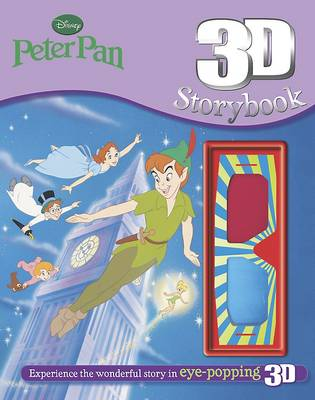 Disney Peter Pan 3d Storybook by
