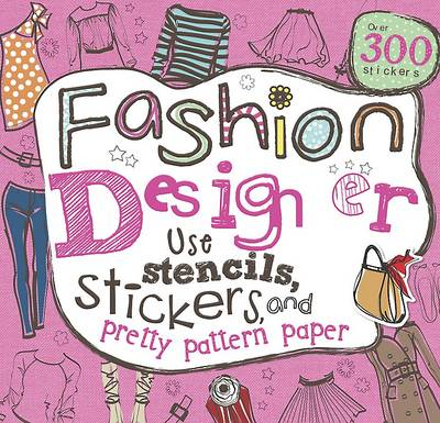 Girls Fashion Doodles Book by