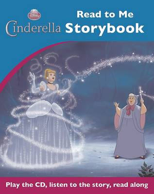 Disney Cinderella Read to Me Book & CD by