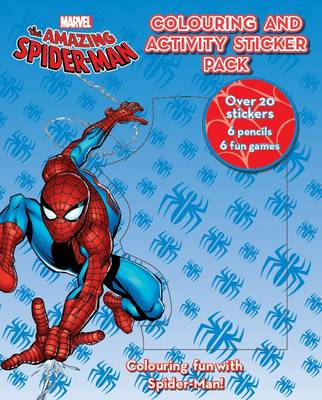 Marvel Spider-Man Colouring and Activity Pack by