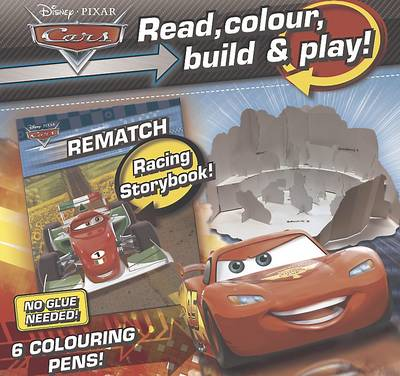 Disney Cars Read, Colour, Build & Play by
