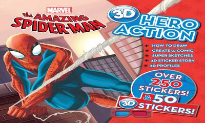 The Amazing Spiderman 3d Hero Action Book by