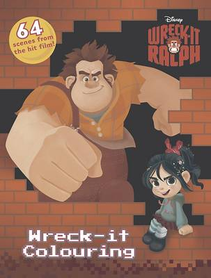 Disney Wreck-it Ralph Wreck-it Colouring by