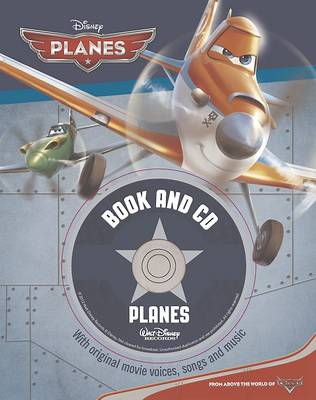 Disney Planes Book and CD by