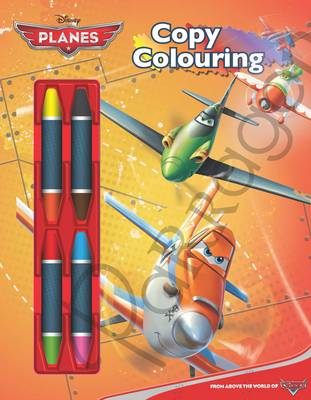 Disney Planes Copy Colouring Book by