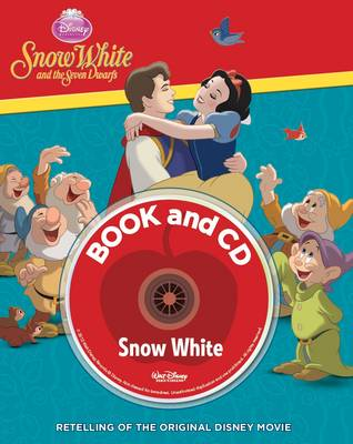 Disney Padded Storybook and CD by