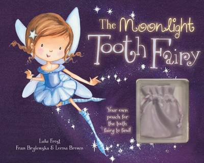 The Moonlight Tooth Fairy Story Book with Charm by