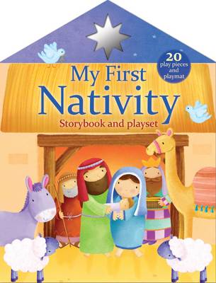 First Christmas Nativity Playset Pack by
