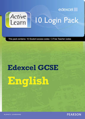Edexcel GCSE English and English Language ActiveLearn 10 User Pack by