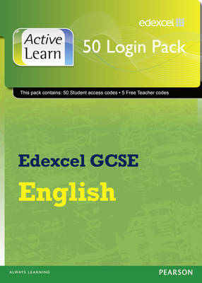 Edexcel GCSE English and English Language ActiveLearn 50 User Pack by