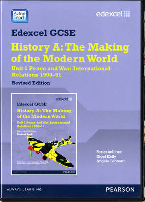 Edexcel GCSE Modern World History Unit 1 ActiveTeach Peace and War: International Relations 1900-91 by
