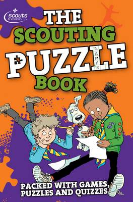 The Scouting Puzzle Book by Amanda Li