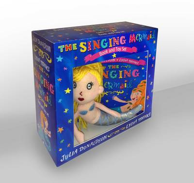 Singing Mermaid Book and Toy by