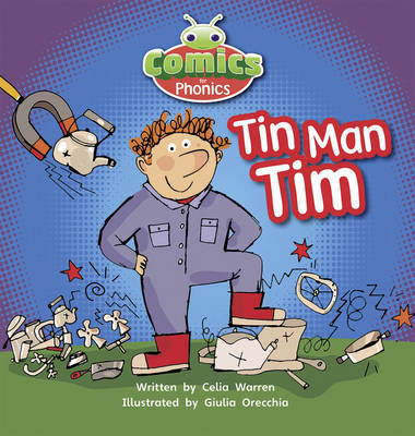 Tin-Man Tim Pink A by Celia Warren