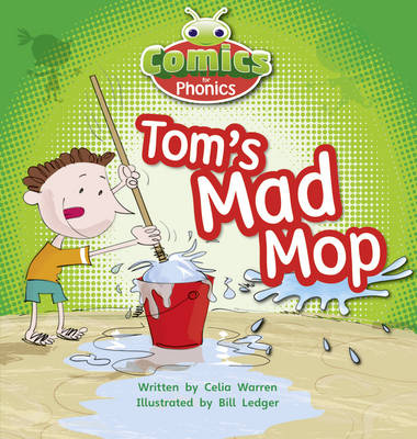 Tom's Mad Mop Pink A by Celia Warren
