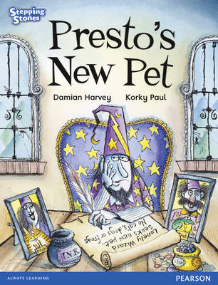 Stepping Stones: Presto's New Pet - Blue Level by Damian Harvey