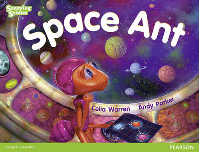 Stepping Stones: Space Ant - Green Level by Celia Warren