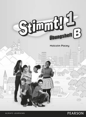 Stimmt! 1 Workbook B PACK by Malcolm Pacey