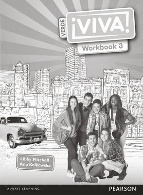 Viva! 3 Verde Workbook Pack by Ana Kolkowska, Libby Mitchell