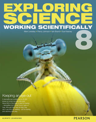 Exploring Science: Working Scientifically Student Book Year 8 by Mark Levesley, P. Johnson, Susan Kearsey, Iain Brand