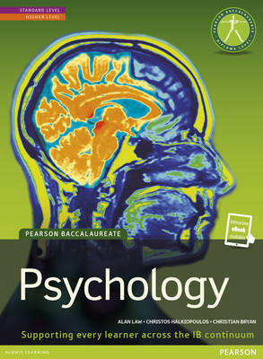 Pearson Baccalaureate: Psychology new bundle (not pack) by Alan Law, Christos Halkiopoulos, Christian Bryan